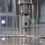 Machine drill work. Machine drills at work scenes Stock Photo