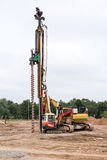 Machine for drilling holes Royalty Free Stock Photo