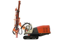 Machine for drilling holes Stock Images