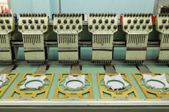 Machine embroider Royalty Free Stock Image
