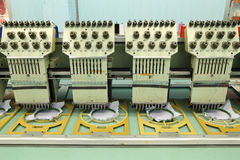 Machine embroider Royalty Free Stock Photography