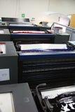 Machine excentrée et couleur Photo stock