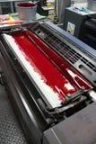 Machine excentrée et couleur Photographie stock