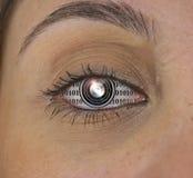 Machine Eye Stock Photo