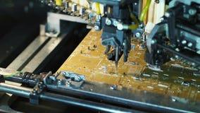 Machine fabriquant la carte électronique clips vidéos