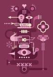 Machine fantastique Illustration Stock