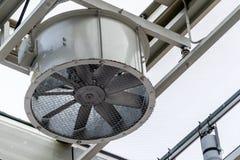 Machine formée arrondie de ventilation d'air image stock