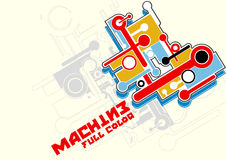 Machine full color Stock Photos