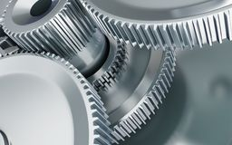Machine gear background Royalty Free Stock Images