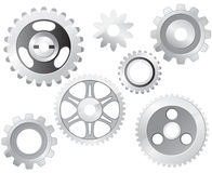 Machine Gear Wheel Royalty Free Stock Photos