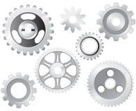 Machine Gear Wheel Royalty Free Stock Photos