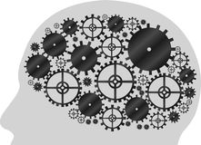 Machine gear wheel Stock Images