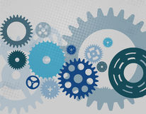 Machine Gear Wheel Cogwheel pattern. Vector Stock Photo