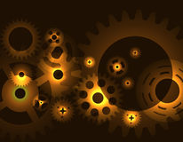 Machine Gear Wheel Cogwheel pattern. Vector Stock Photos