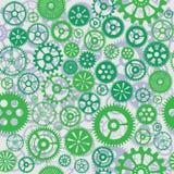 Machine Gear Wheel Cogwheel Seamless Pattern Background. Stock Photos