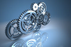 Machine Gears Stock Photography