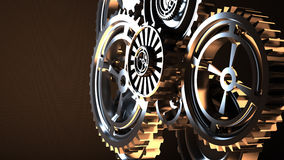 Machine Gears Royalty Free Stock Photo