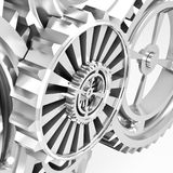 Machine Gears Royalty Free Stock Photos