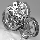 Machine Gears Royalty Free Stock Photography