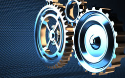 Machine Gears Stock Image