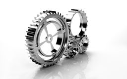 Machine Gears Stock Photos
