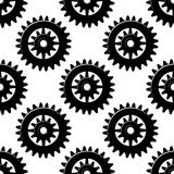Machine gears and pinions seamless pattern Stock Images