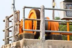 Machine gearwheel Stock Image