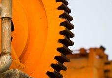 Machine gearwheel Stock Images