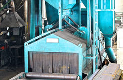 Machine for grinding the surface metal Stock Images