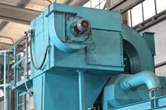 Machine for grinding the surface metal Stock Photos