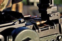Machine-gun Image stock