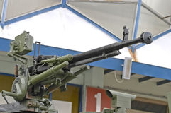 Machine gun. A machine gun on a tank Royalty Free Stock Photos