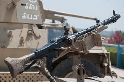 Machine gun  . Royalty Free Stock Photography