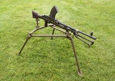 Machine Gun. Stock Image