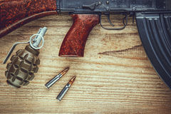Free Machine Gun Royalty Free Stock Image - 43480146