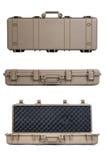 Machine gun box Soft Secure Storage Case isolated Royalty Free Stock Image