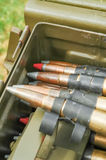 Machine gun bullets Royalty Free Stock Photos