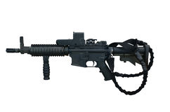 Machine gun C8 CQB Royalty Free Stock Photos