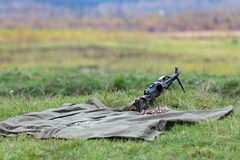 Machine gun Royalty Free Stock Photography