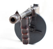 Machine gun closeup Royalty Free Stock Photography