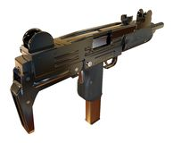 Machine Gun Royalty Free Stock Photos