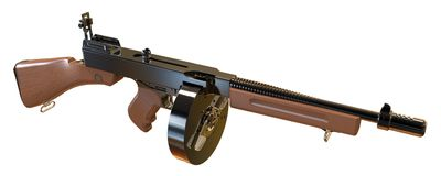 Machine Gun Royalty Free Stock Image
