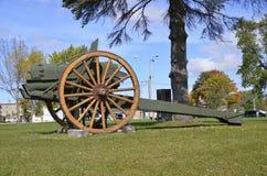 Machine gun on display Royalty Free Stock Image