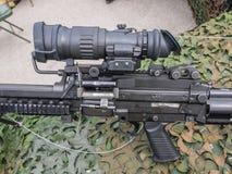 Machine gun Dutch military Royalty Free Stock Photos
