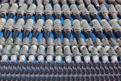 Machine-gun fitas Imagens de Stock