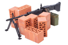 Machine gun Stock Image