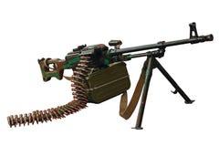 Machine gun kalashnikov Stock Photo