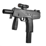 Machine gun with laser sight Stock Photography