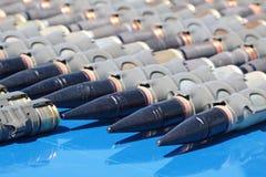 Machine-gun les bandes Image libre de droits