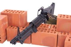 Machine gun m60 Stock Photo